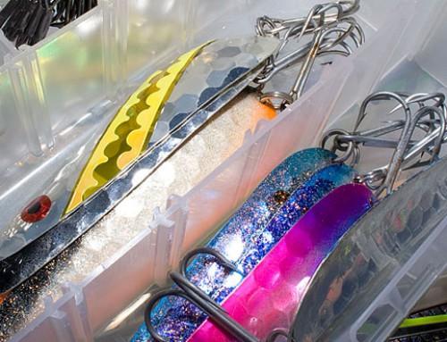 Packar för fyra dagars fiske efter vandringslax