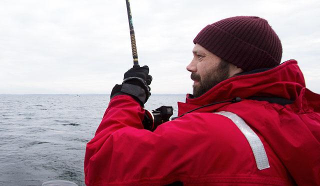 Niklas fish-fighting-face
