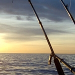 Luciafirande på Vänern med fina silverfiskar