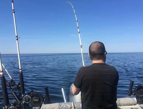 Tre dagars fiske i Hasslö