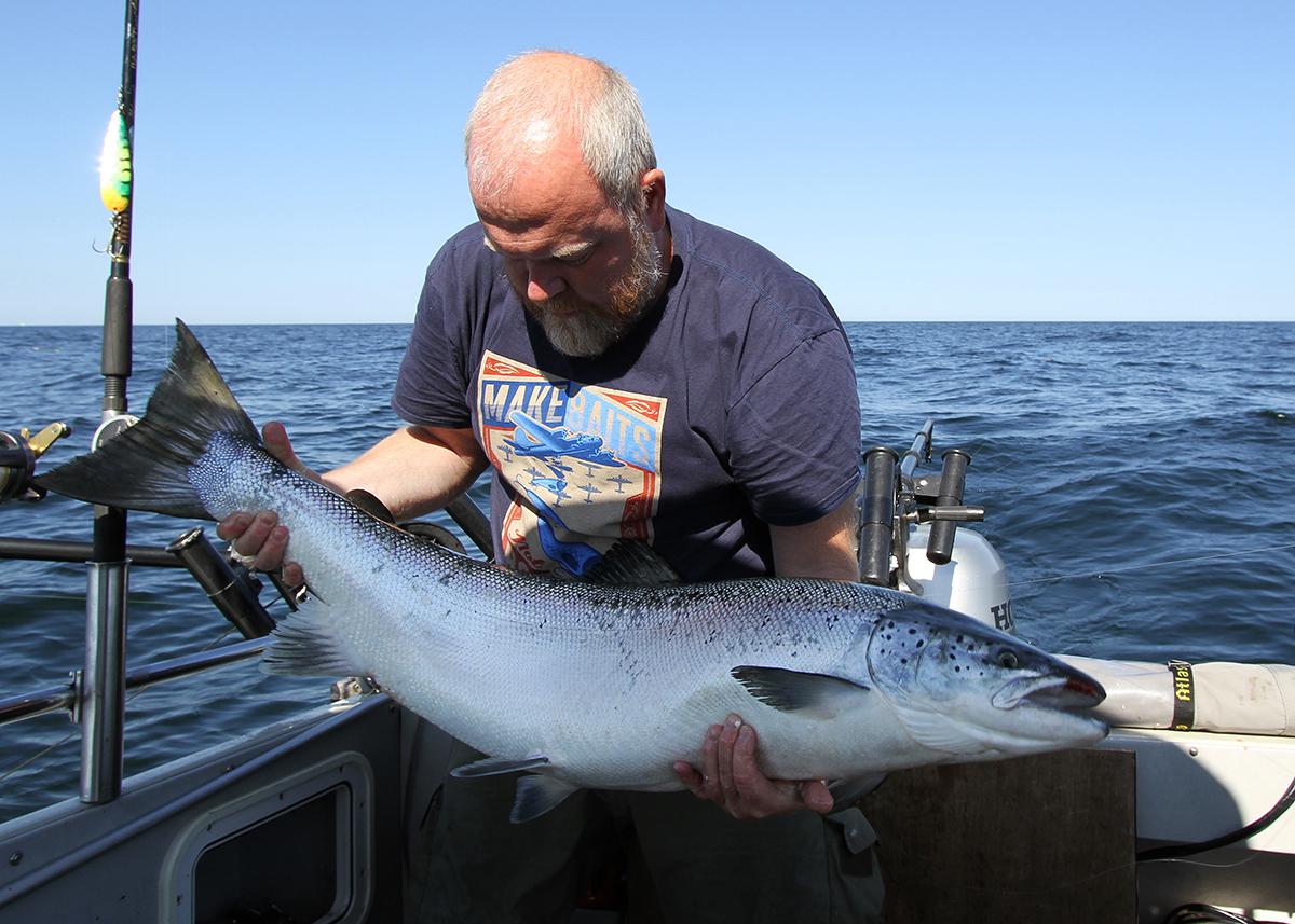 En grov och fin fisk på 112 cm och 15,7 kilo